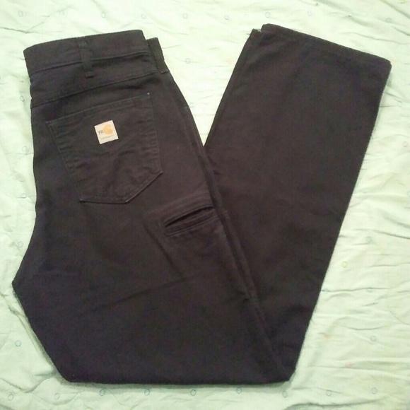 4f5276a0d2ee Carhartt Other - Carhartt FR Fireproof Size 34x34 Black Pants!